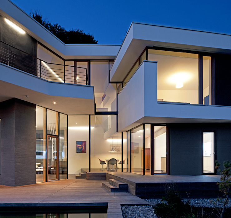 Modern Houses by Kauffmann Theilig & Partner, Freie Architekten BDA Modern