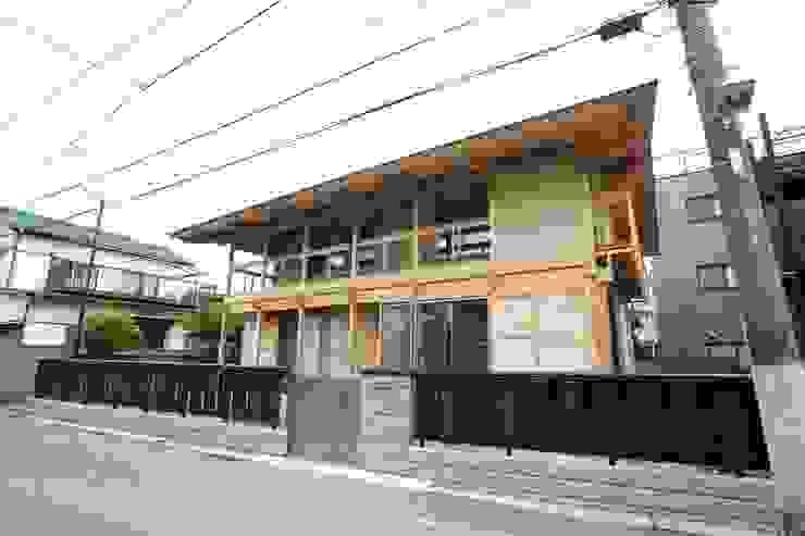 木造伝統工法のF邸 日本家屋・アジアの家 の 建築設計事務所 山田屋 和風
