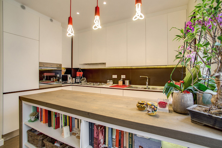 BALDUINA Cucina moderna di MOB ARCHITECTS Moderno