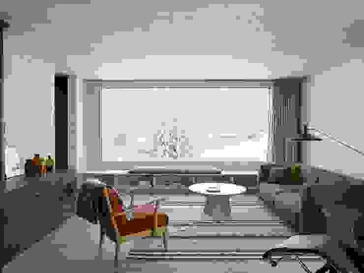 Holzkristall Moderne Wohnzimmer von Hurst Song Architekten Modern