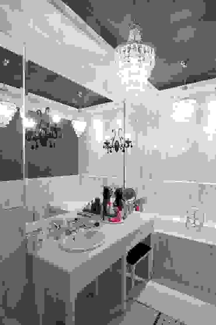 apartament Willanów Klasyczna łazienka od livinghome wnętrza Katarzyna Sybilska Klasyczny