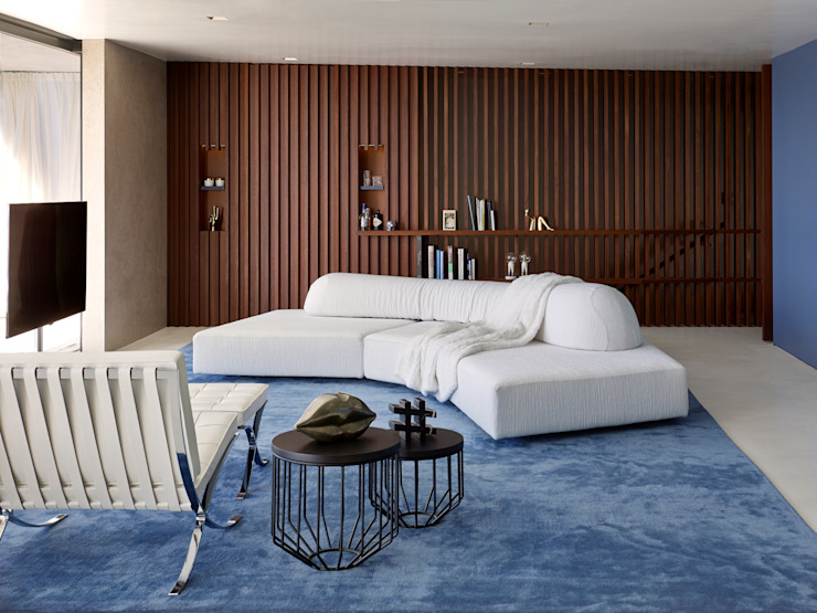 Livings de estilo minimalista de Bernd Gruber Kitzbühel Minimalista