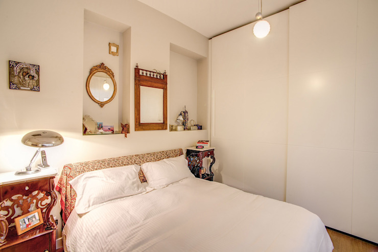 BALDUINA#2 MOB ARCHITECTS Camera da letto moderna