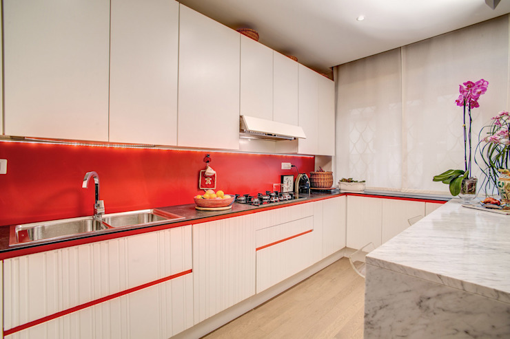 BALDUINA#2 Cucina moderna di MOB ARCHITECTS Moderno