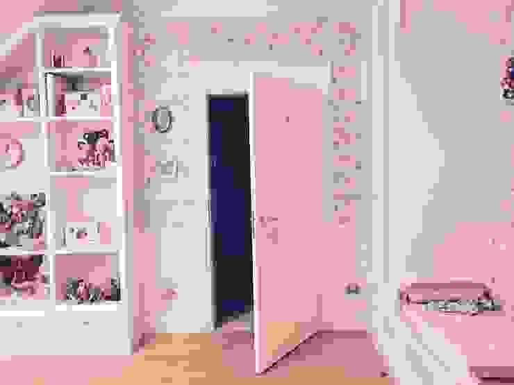 sypialnia dziewczynki -słodko i spokojnie Klasyczna sypialnia od livinghome wnętrza Katarzyna Sybilska Klasyczny