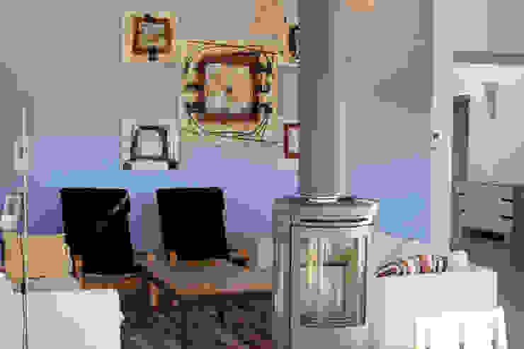 Maison individuelle ossature bois i Petra France SalonAccessoires & décorations