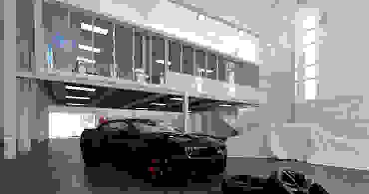 Varios Garajes clásicos de arquitecto9.com Clásico