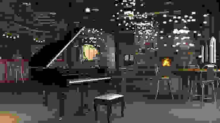 Varios Salas multimedia clásicas de arquitecto9.com Clásico