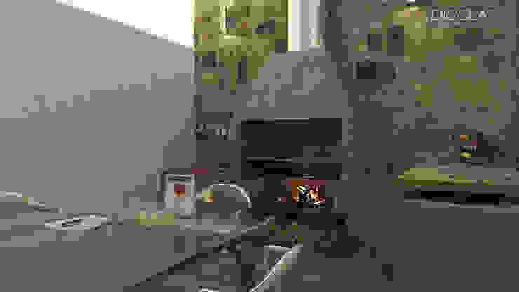 Varandas, marquises e terraços clássicas por arquitecto9.com Clássico