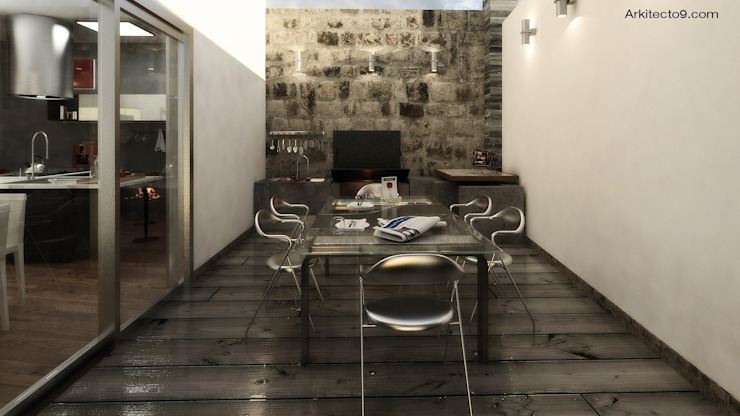 Dining room by arquitecto9.com, Classic