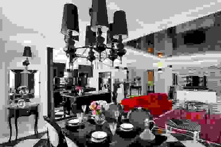 livinghome wnętrza Katarzyna Sybilska Eclectic style dining room