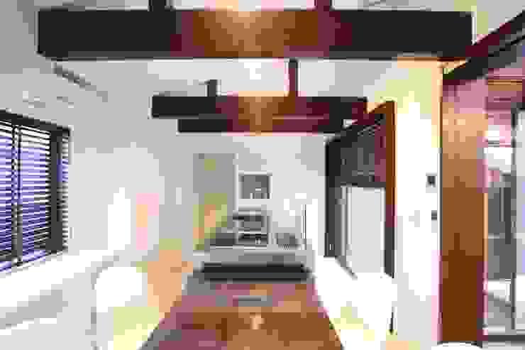 ダイニング・キッチン オリジナルデザインの ダイニング の 杉山真設計事務所 オリジナル