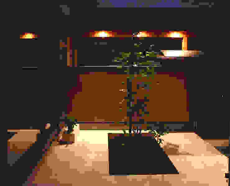 中庭のやまぼうし オリジナルな 庭 の 杉山真設計事務所 オリジナル