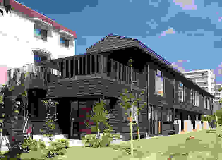 屋上庭園のある保育園 アジア風学校 の ユニップデザイン株式会社 一級建築士事務所 和風