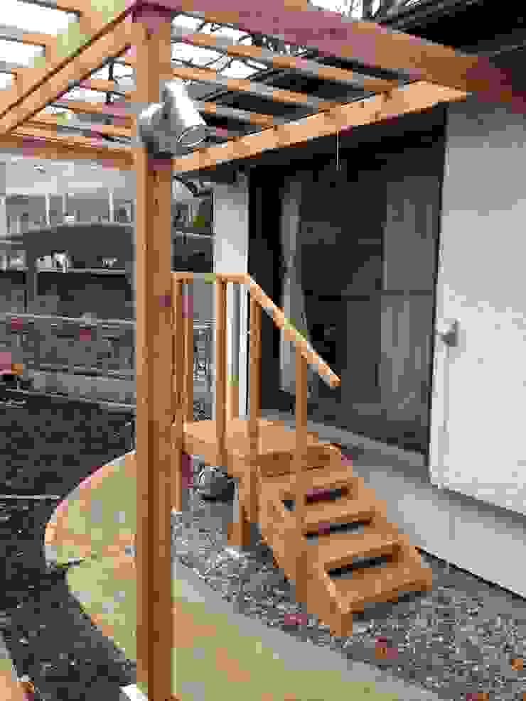 木製ステップ オリジナルな 庭 の 株式会社アフロとモヒカン オリジナル