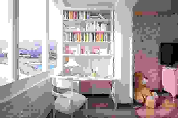 """Дизайн детской девочки ЖК """"Новый город"""" Детская комнатa в классическом стиле от Студия интерьерного дизайна happy.design Классический"""