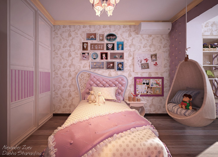 Студия интерьерного дизайна happy.design Phòng trẻ em phong cách kinh điển