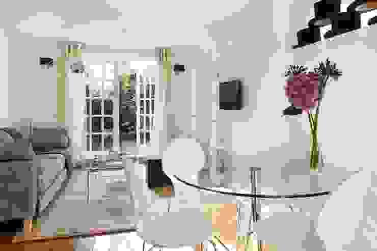 Living - Dining room gdp interiors Ruang Keluarga Modern