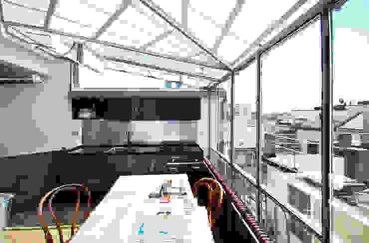 visconti di modrone Cucina moderna di andrea borri architetti Moderno