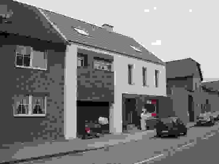 Fassade neu Moderne Häuser von z-plus-architektur Modern