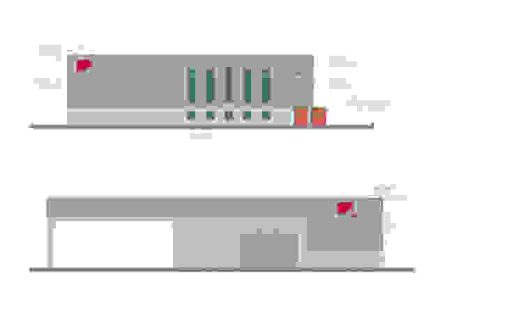 Edificio per Logistica e Trasporti di PoliedroStudio srl