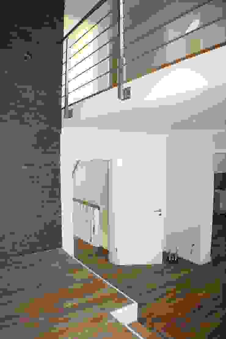 Galerie Moderner Flur, Diele & Treppenhaus von z-plus-architektur Modern