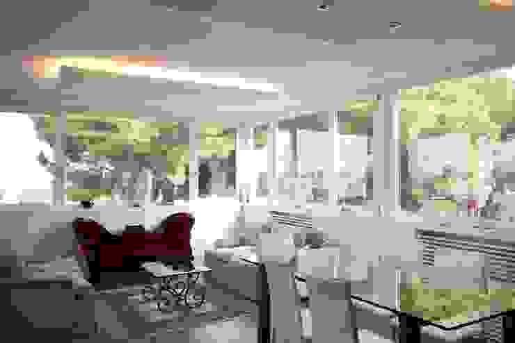 Casa CB Sala da pranzo moderna di Manuela Tognoli Architettura Moderno