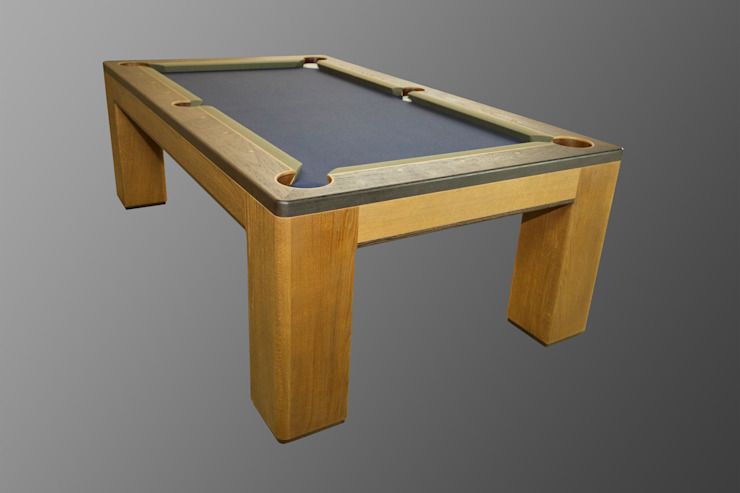 Custom 'Spartan' American Pool Table.: modern  by Designer Billiards, Modern