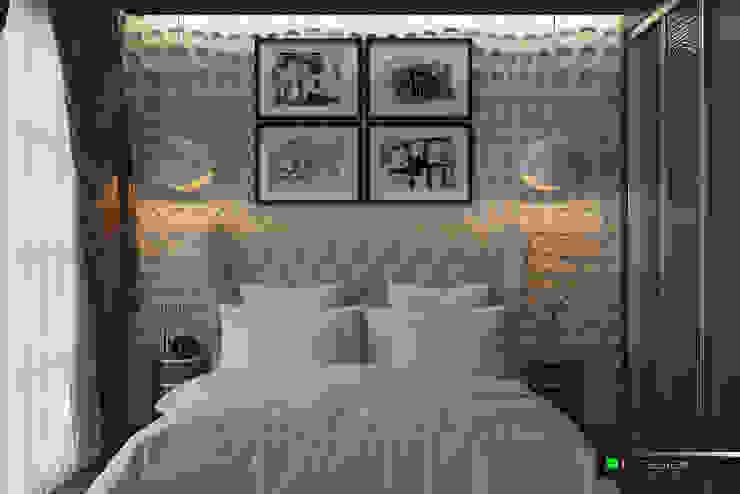 Квартира для отдыха в Болгарии Спальня в классическом стиле от LC.DESIGN Классический