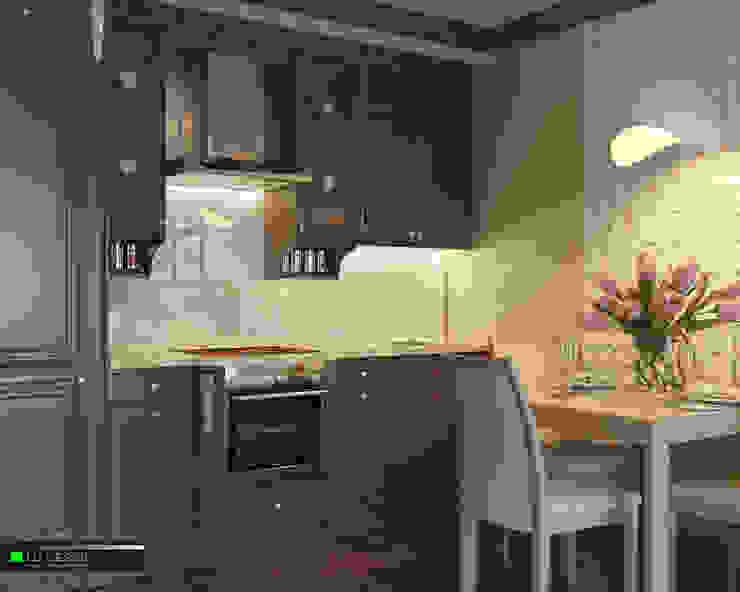 Квартира для отдыха в Болгарии Кухня в классическом стиле от LC.DESIGN Классический