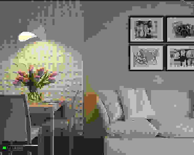 Квартира для отдыха в Болгарии Гостиная в классическом стиле от LC.DESIGN Классический