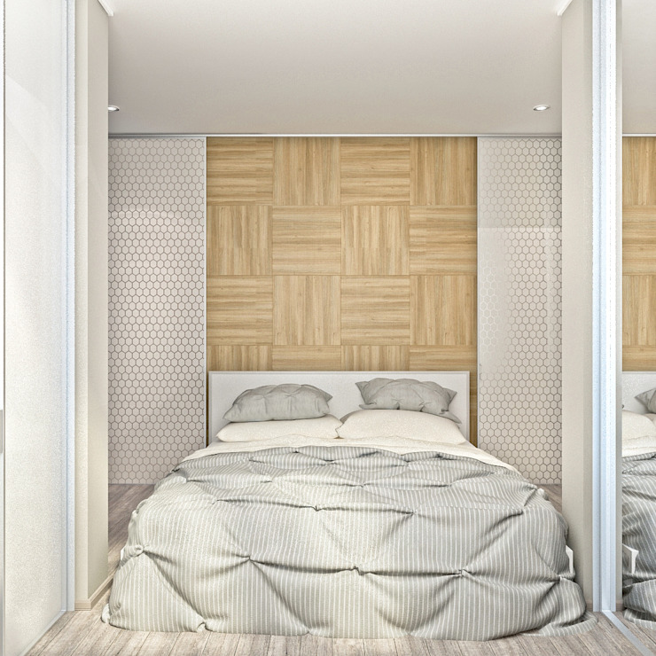 PlatFORM Scandinavian style bedroom
