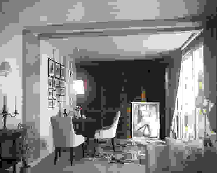 04 Балконы и веранды в эклектичном стиле от Hogart Design Эклектичный