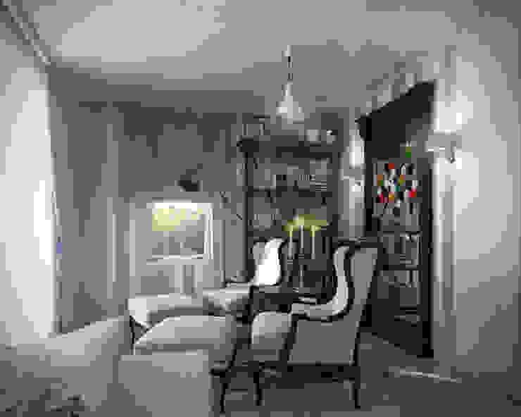 05 Балконы и веранды в эклектичном стиле от Hogart Design Эклектичный