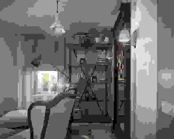 07 Балконы и веранды в эклектичном стиле от Hogart Design Эклектичный