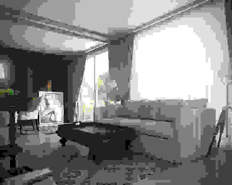 08 Балконы и веранды в эклектичном стиле от Hogart Design Эклектичный