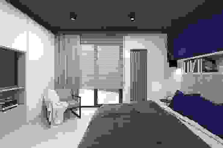 Modern style bedroom by BAGUA Pracownia Architektury Wnętrz Modern