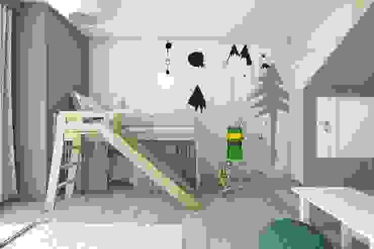 Modern nursery/kids room by BAGUA Pracownia Architektury Wnętrz Modern