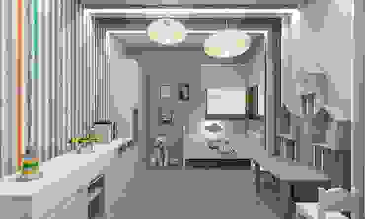 Scandinavian style nursery/kids room by BAGUA Pracownia Architektury Wnętrz Scandinavian
