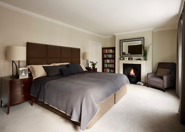 Reflected Glory - Holland Park Renovation Classic style bedroom by Tyler Mandic Ltd Classic