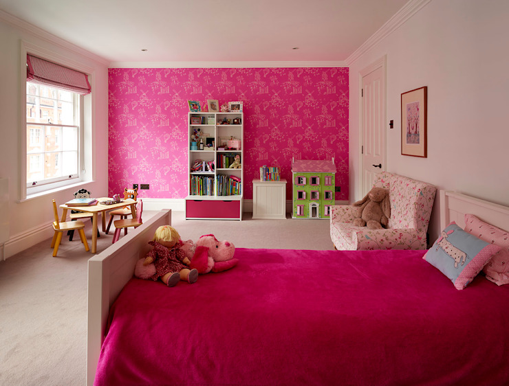Reflected Glory - Holland Park Renovation Modern nursery/kids room by Tyler Mandic Ltd Modern