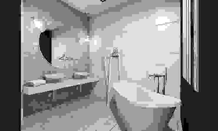 Modern bathroom by BAGUA Pracownia Architektury Wnętrz Modern