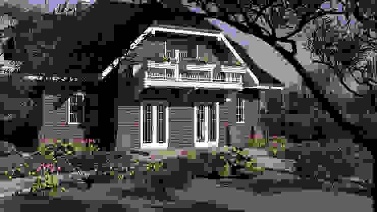 Casas de estilo escandinavo de Студия Ксении Седой Escandinavo