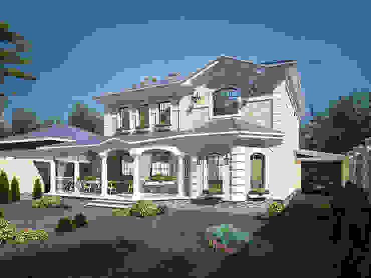 Коттеджи Дома в классическом стиле от Студия Ксении Седой Классический