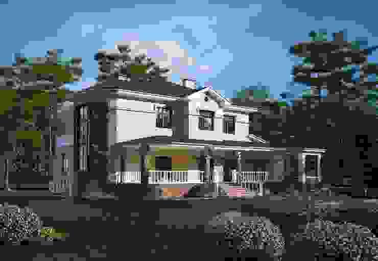 Загородный дом Дома в классическом стиле от Студия Ксении Седой Классический