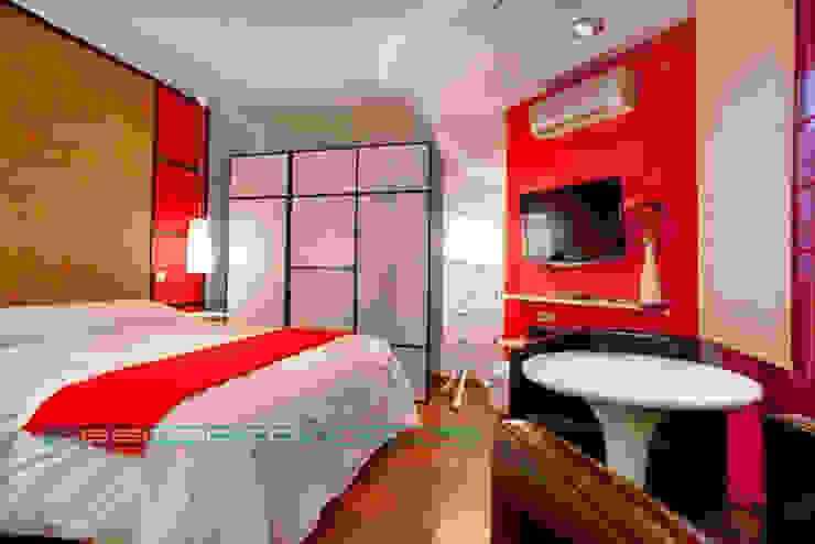 Спальня в азиатском стиле от Javier Zamorano Cruz Азиатский