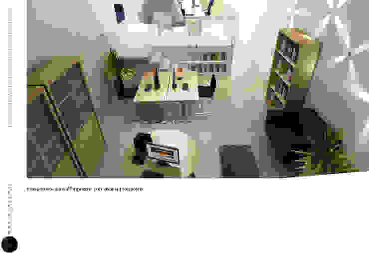 LOFT BLUEBERRY Studio minimalista di maurococco.it Minimalista