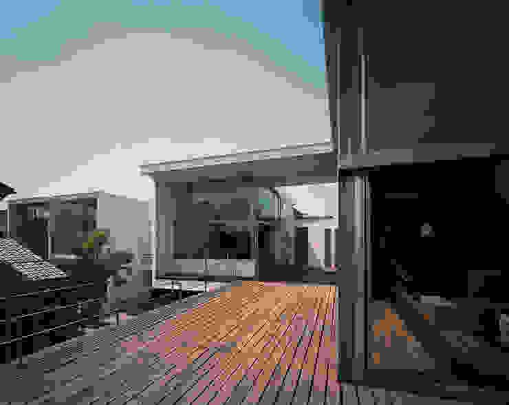 フラッツ5+1 オリジナルデザインの テラス の 西島正樹/プライム一級建築士事務所 オリジナル