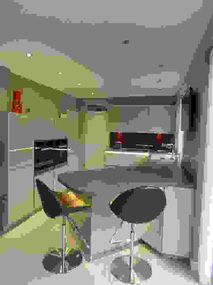MR & MRS HOUSTON'S KITCHEN Modern kitchen by Diane Berry Kitchens Modern