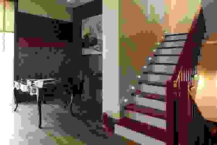 Подмосковный загородный дом для отдыха большой семьи и приема гостей Рабочий кабинет в эклектичном стиле от AlenaPolyakova.com Эклектичный